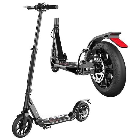 ACZZ Scooter de patada para adultos con ruedas grandes ...