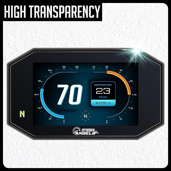 Speedo Angels Displayschutzfolie Tachoschutzfolie Für 690 790 Duke 3 X Entspiegelt Auto