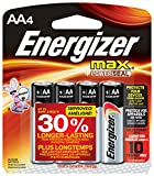Energizer MAX AA Batteries, Designed to Prevent Damaging Leaks (4 Count)
