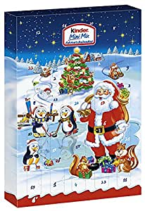 Kinder Mini Mix Advent Calendar, 152g