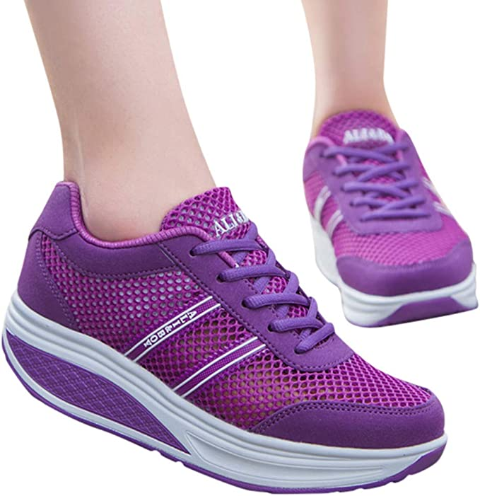 Berimaterry Zapatos Deporte Mujer Zapatillas Deportivas Correr ...