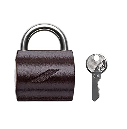 Godrej Locks MyLocks Padlock with 2 Keys (Texture Brown)