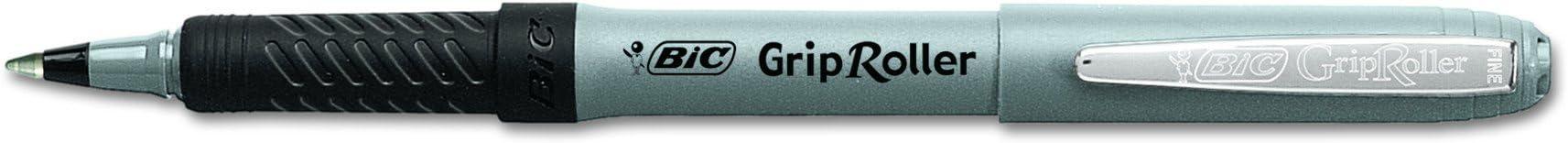BIC Grip Roller Fino Cajilla 12 piezas negro