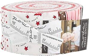 Bunny Hill Designs Merry Merry Snow Days Jelly Roll 40 2.5-inch Strips Moda Fabrics 2940JR