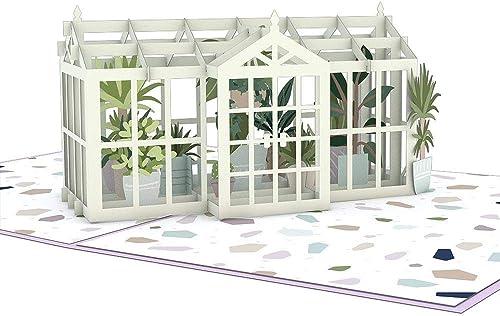 Lovepop Greenhouse Garden 3-D Pop-Up Greeting Card