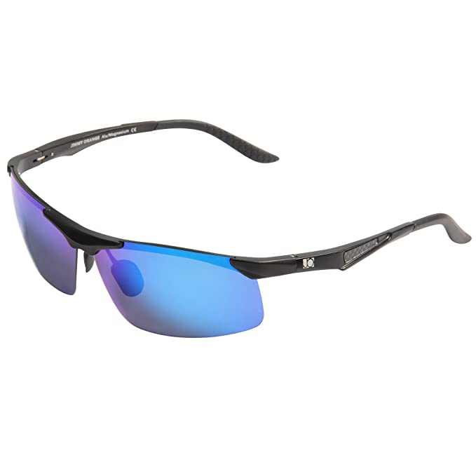 Jimmy Orange Aluminio Magnesio Polarizado Gafas deSol Ciclismo Hombres Gafas de Sol de Conducción al Aire Libre Mujeres de Alta Calidad JO671