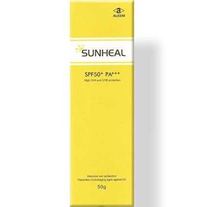 4d446e899 Sunheal Sunscreen Lotion - SPF 50 PA+++ (50 g): Amazon.in: Beauty
