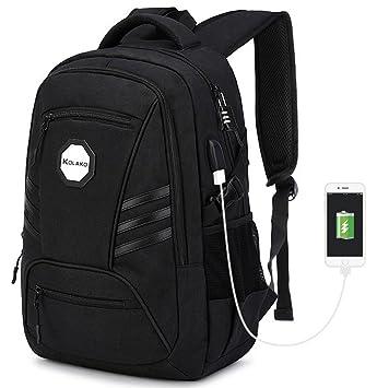 Amazon.com: KOLAKO Laptop Backpack, Waterproof School College ...