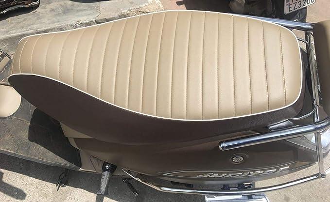 Surprising Saharaseats Tvs Jupiter Classic Type Seat Cover Brown Machost Co Dining Chair Design Ideas Machostcouk