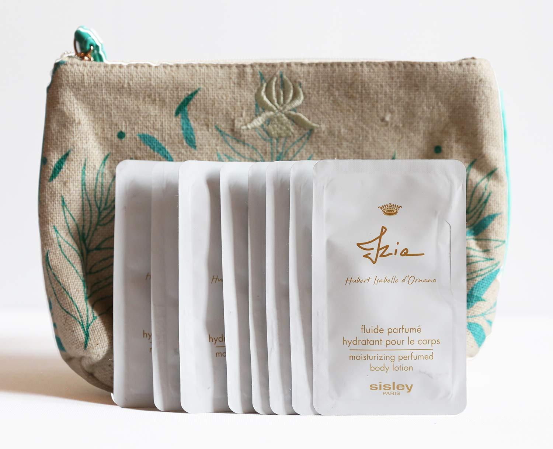 Travel set Izia Moisturizing Perfume Body Lotion 8ml. (10packs with bag)