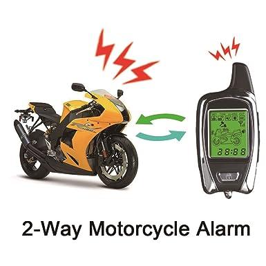 Amazon.com: BANVIE Sistema de alarma de seguridad de 2 vías ...