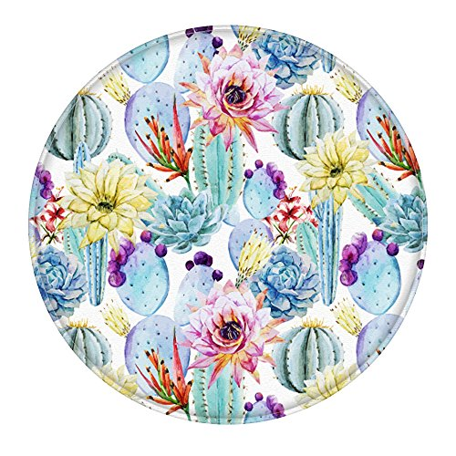 cactus-2-feet-round-bathroom-rug-uphome-flannel-microfiber-non-slip-soft-absorbent-kitchen-floor-bat