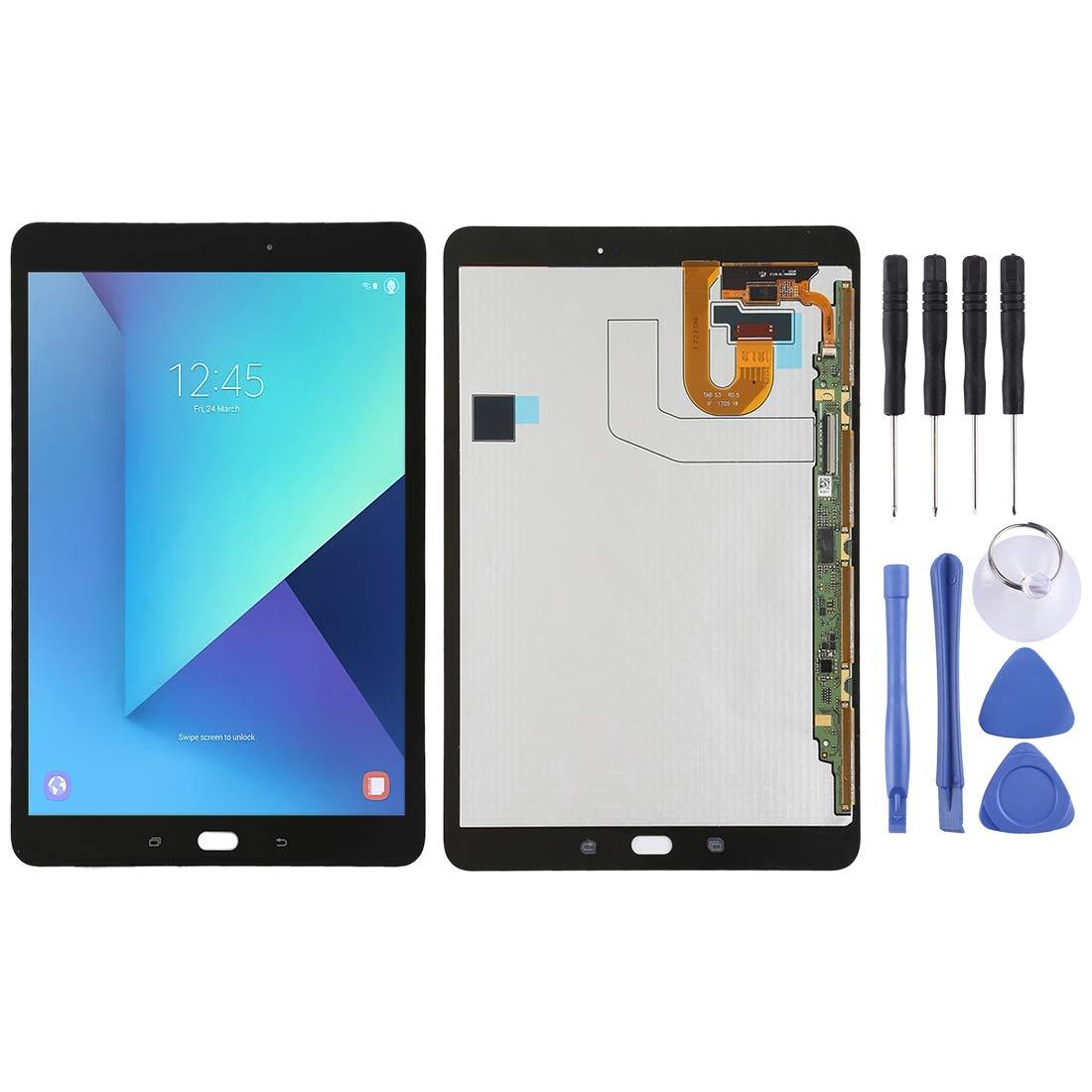 修理用フロントパネル(フロントガラスデジタイザ)タッチパネル Lcd液晶パネルセット Samsung Galaxy Tab S3 Galaxy Samsung T820 :/ T825のためのLCDスクリーンとデジタイザーのフルアセンブリ (色 : Black) Black B07N6D4JKT, ジェイエスジェイ:602978c5 --- gallery-rugdoll.com