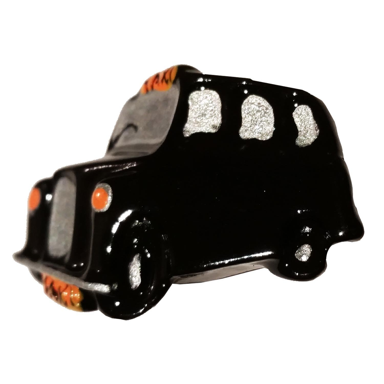 LONDON TAXI BLACK CAB ENAMEL LAPEL PIN BADGE