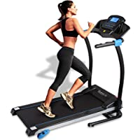 SereneLife Folding Treadmill – Treadmills for Home Cardio Training - Professional Fitness Equipment with 16 Preset…