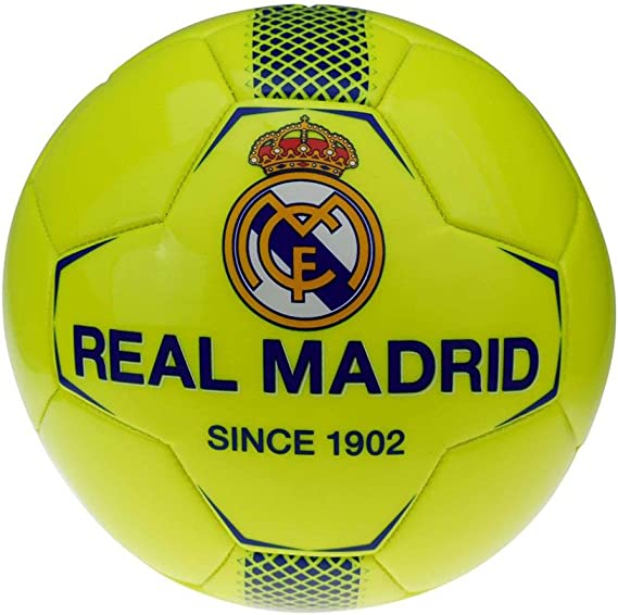 Real Madrid rm7gb1 de balón de fútbol de Mixta Infantil, Color ...