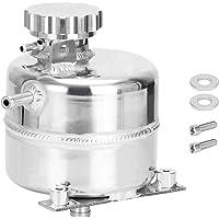 Bigbiglife Aluminium Radiator Koelvloeistof Water Overloop Expansie Tank Reservoir voor S R52 R53 Zilver