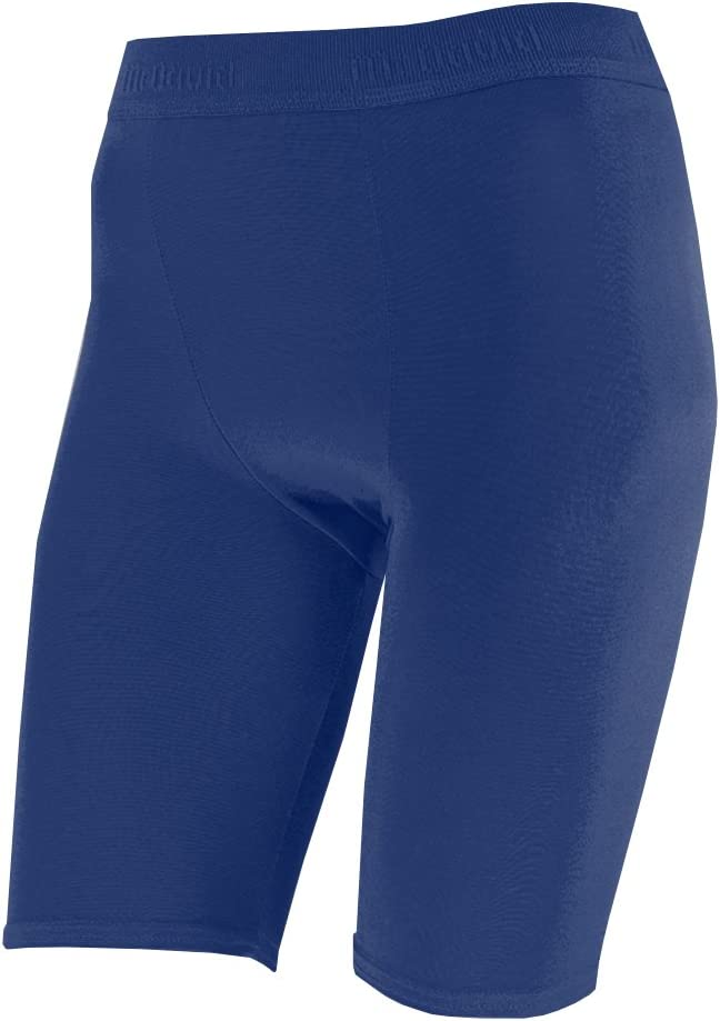 McDavid 810YT Premium Compression Shorts Navy Youth M