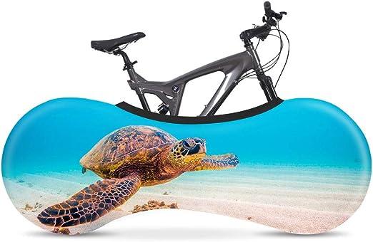 Wooden fish Funda Bici para Interiores Funda para Bicicleta Exterior Cubierta Interior De Bicicleta, La Mejor Solución para Mantener Su Interior Limpio para Bicicletas De Adultos,C: Amazon.es: Hogar