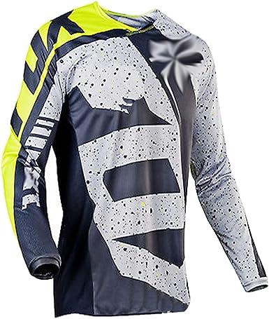 ZCFX MTB Cycling Jersey Long Sleeve T-Shirt Men Size M Colour YJ114