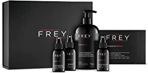 FREY Clothing Care Kit (5 Piece Laundry Set) - Great for Sensitive Skin & Environment (Cedarwood Bold Fragrance)