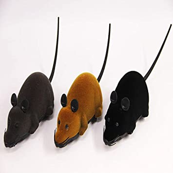 ... eléctrico del gato del juguete del gato del control remoto inalámbrico del gato del juguete con teledirigido , brown: Amazon.es: Productos para mascotas