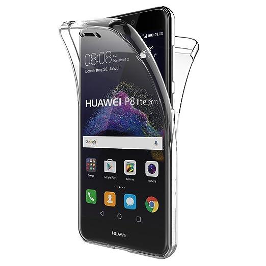 67 opinioni per EASYPLACE Cover 360° Fronte & Retro- Huawei P8 Lite 2017- Trasparente-