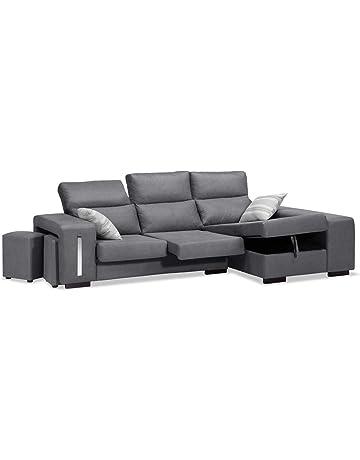 d0b97de32b6 Muebles Baratos Sofa con Chaise Longue 3 plazas