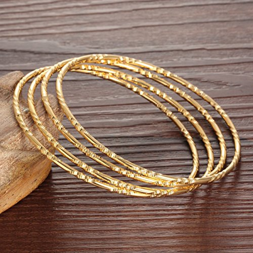 karaa twisted work bracelet gold
