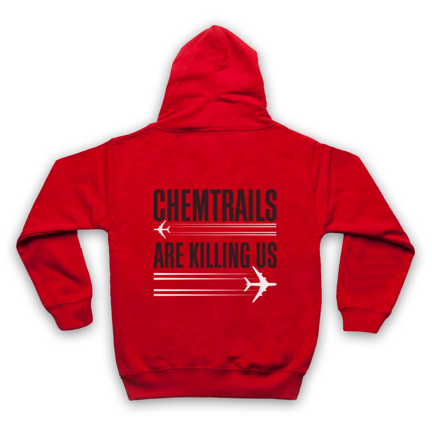 My Icon Little Boys Chemtrails are Killing Us Protest Kids Zip Hoodie
