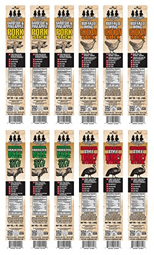Westerns-Smokehouse-Premium-Snack-Sticks-Grass-Fed-Beef-Turkey-Pork-and-Chicken-Jerky-Sticks-Variety-Pack