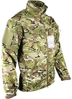 1a6c20506a918 Zip Zap Zooom Mens British Army Combat Military Waterproof Nylon Hooded  Rain Jacket Camo Smock