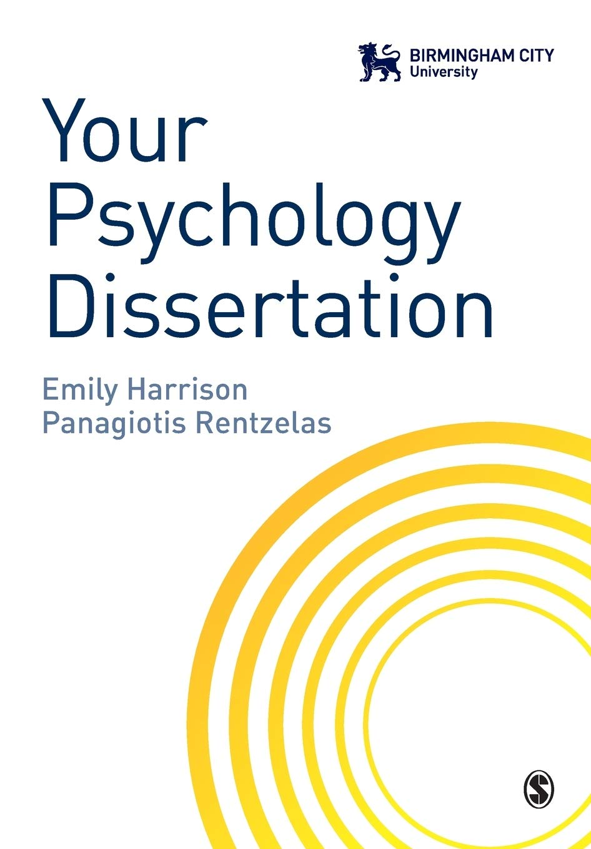 Dissertation psychology definition of term paper
