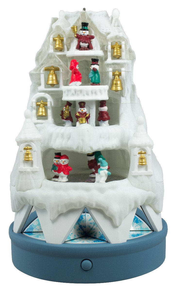 Musical christmas ornaments that play music - Amazon Com Hallmark 2016 Christmas Ornaments Winter Wonderland Kitchen Dining