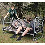 Disc-O-Bed Youth Kid-O-Bunk with Organizers, Lime