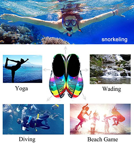 Dry Men Barefoot for Water Multicolor Surf Quick Building Yoga Swim for Women Beach VOVOCAT Kids Sports Shoes Shoes E8pqE