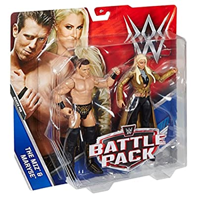 WWE The Miz & Maryse Action Figure (2 Pack): Toys & Games