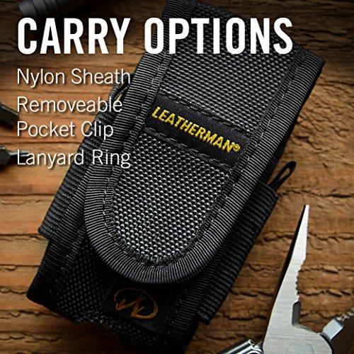 Leatherman - Sidekick Multi-Tool, Stainless Steel with Nylon Sheath