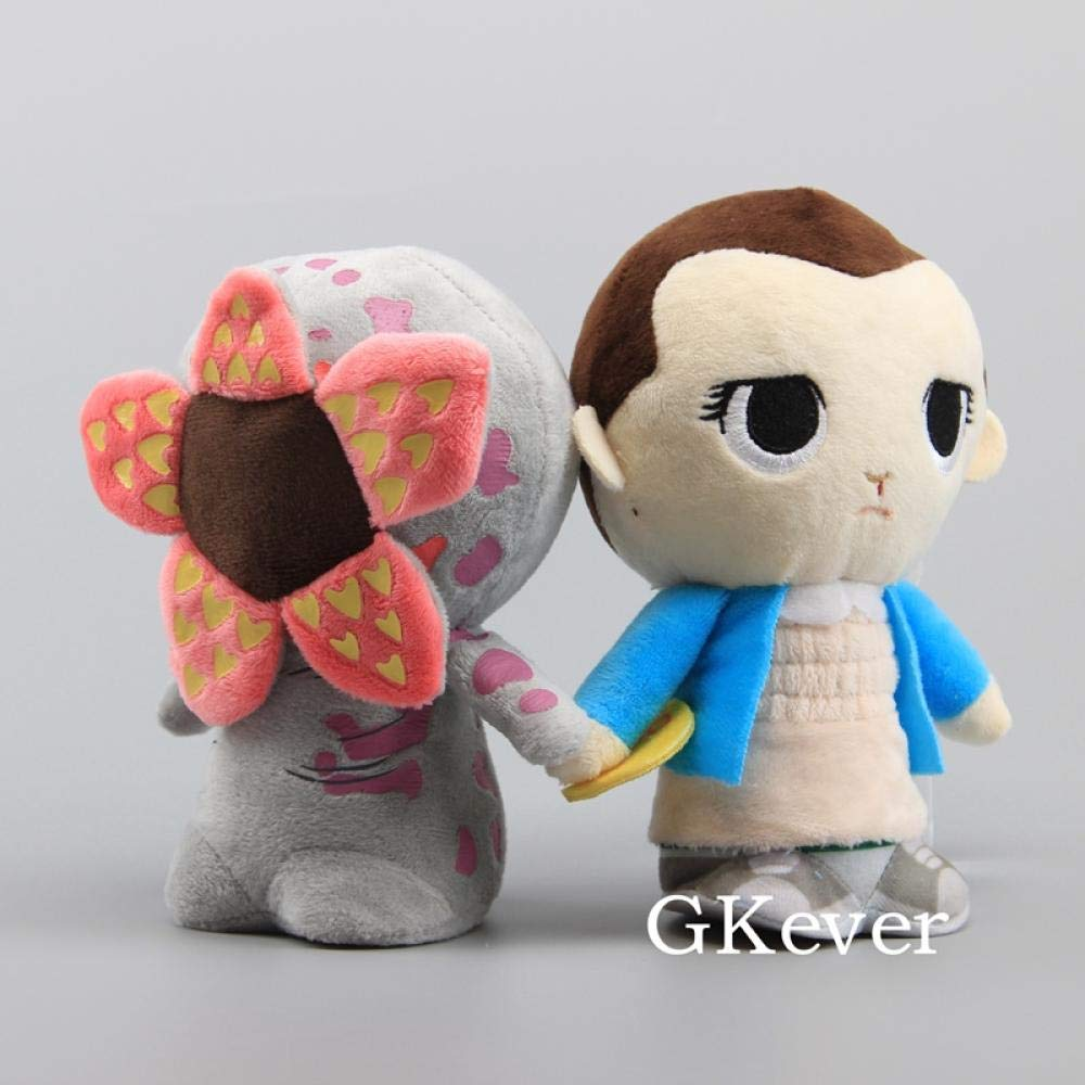 Color : Demogorgon Unbekannt Nouveau Stranger Things Eleven avec Eggo Demogorgon Peluche 18cm 7 Doux en Peluche Poup/ées Enfants Cadeau de No/ël @ Demogorgon