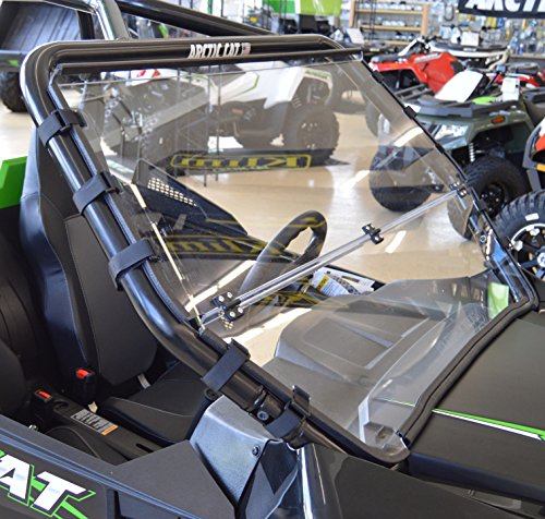Arctic Cat Wildcat TRAIL / Sport - Full Folding Scratch Resistant UTV Windshield. The Ultimate in Side By Side Versatility!Premium Polycarbonate w/ Hard CoatMade in America!! by Clearly Tough (Image #1)