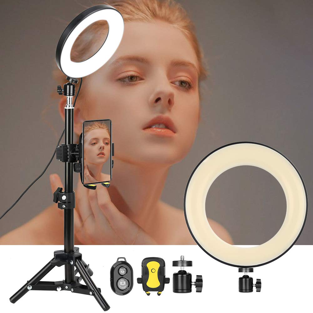 "ZOMEI 6"" Selfie Ring Light"
