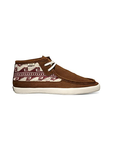 760bf94e48 Vans Mens Rata Mid Krochet Kids Rust VN-0QGU8NR Size 11.5  Amazon.ca  Shoes    Handbags
