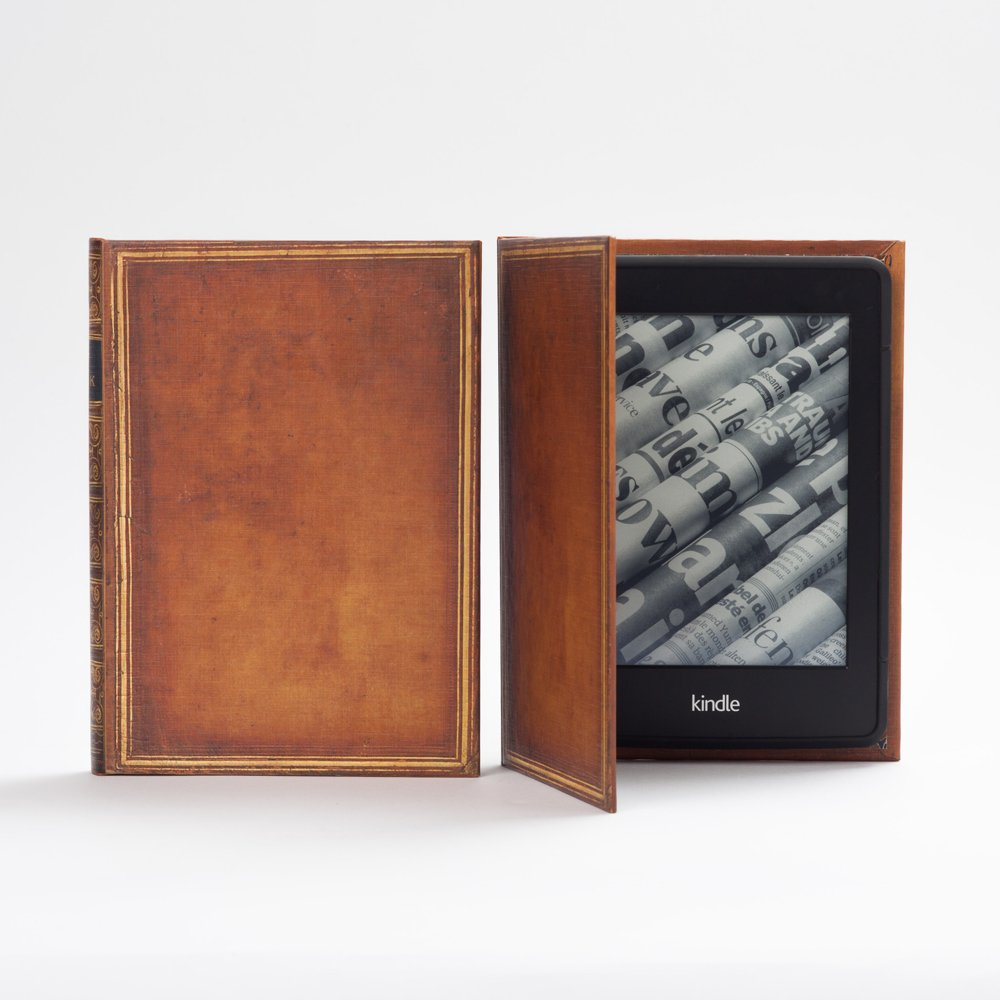 Kindle Voyage Case Book Cover Style (My Book)