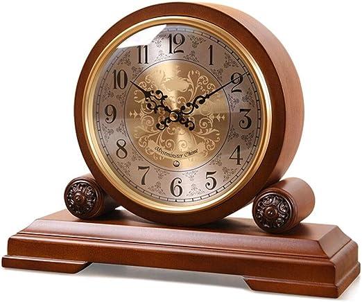 Relojes de mesa Reloj de Chimenea Chime Vintage Decoración de Sala ...