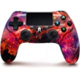 PS4 Controller Wireless Remote, Orion Nebula Style Dual Vibration High Performance Gaming Controller for Playstation 4 /Pro/S