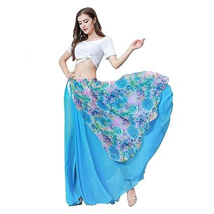 ROYAL SMEELA Disfraz Danza del Vientre Mujer Tops Falda ...