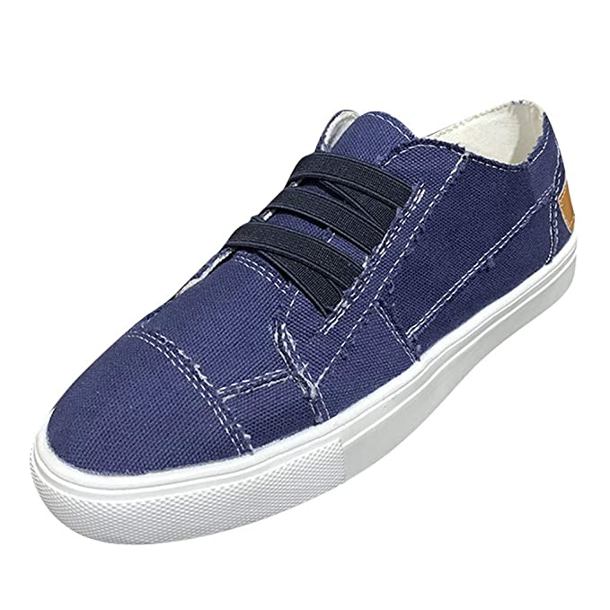 eab64d5414980 Amazon.com: Hot Women Slip-On Sneakers Ladies Vintage Casual Hollow ...