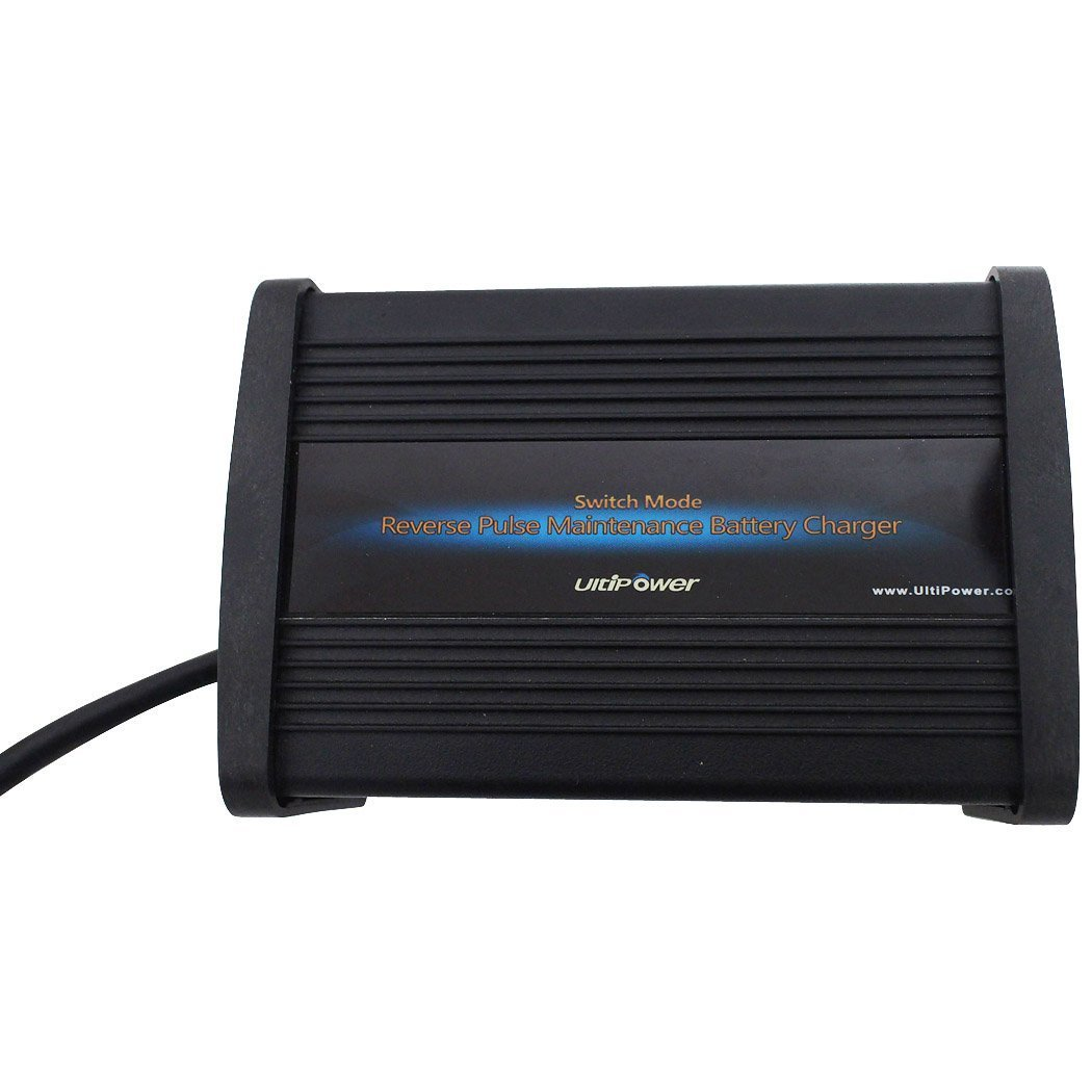 48V 5A Negative Pulse Desulfation Car Battery Charger Battery Maintainer, with Tech Similar to Pulsetech cleanpower