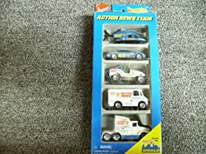 Hot Wheels Action News Team Gift Pack #17456
