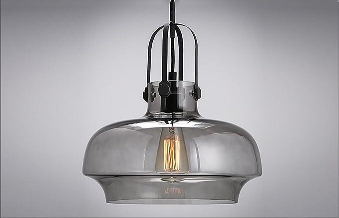 Decorazione del ferro lampade a sospensione parabrezza del vetro e27